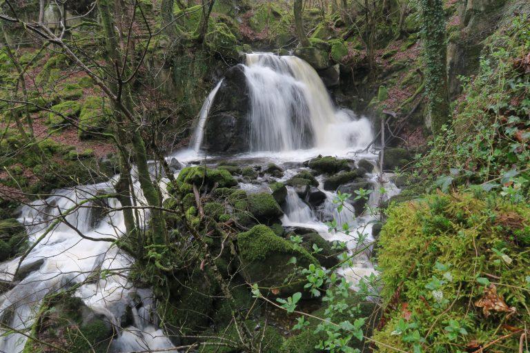 Afon Arthog waterfall